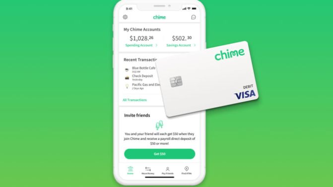 chime money transfer app
