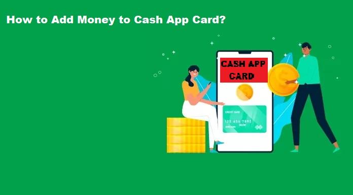 ADD MONEY TO CASH APP CARD
