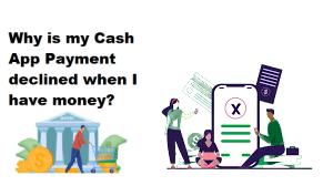 Cash App Payment declined