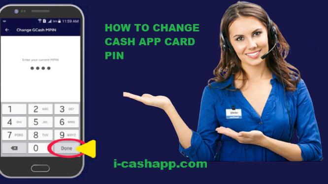 Change Cash App card Pin